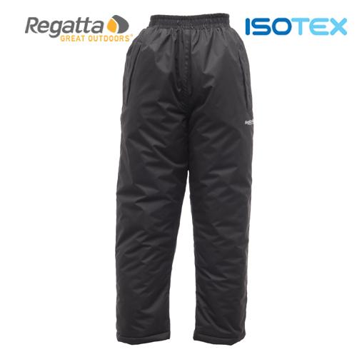 Regatta dětské zateplené kalhoty PadChandler černé  670796d935