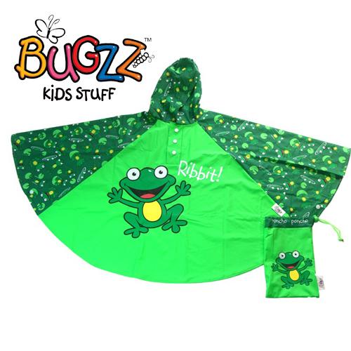 BUGZZ dětská pláštěnka pončo Žabka 3+  b01db70971