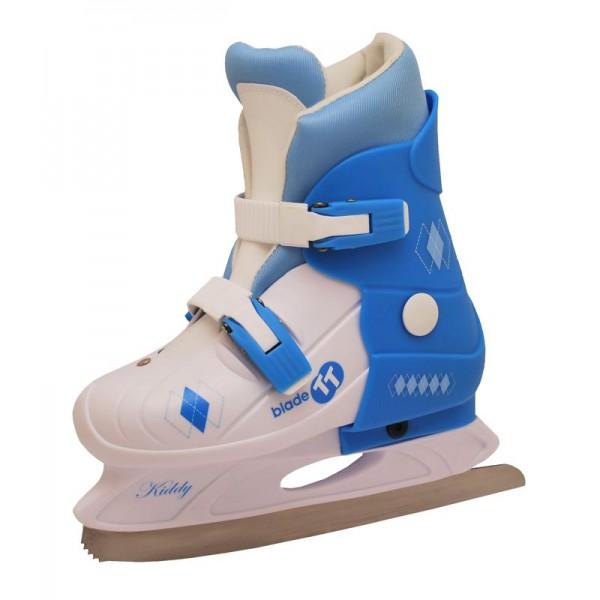Dívčí zimní brusle TRULY JUNIOR bílo-modré M 33-36  e223ea691e