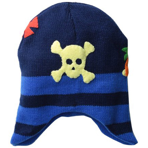 Kidorable dětská pletená čepice Pirát 3-6 let  897e60bb21
